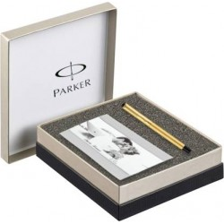 Valentine Gift Cheque Book Holder Faux Leather With Parker Beta Pen
